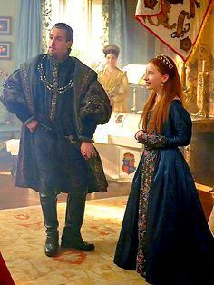 Princess Elizabeth and King Henry VIII