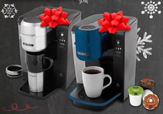 Tis the season of giving! Celebrate with us by entering the Mr. Coffee® Brand Holiday Pin-to-Win Contest. You could win a Mr. Coffee® Single Cup K-Cup® Brewing System  for yourself and one for your friend! #Coffee #Contest #MrCoffeeHoliday