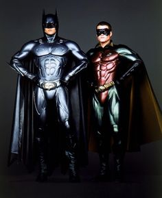Val Kilmer & Chris O'Donnell in Batman Forever (1995)