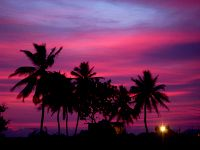 Pink Sunset, Thaa - Spectacular Places