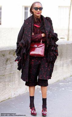 Paris Fashion Week Fall/Winter 2014 Street Style