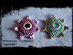 DIY - Tutorial anello SuperDuo Hombre | Beads Ring - YouTube