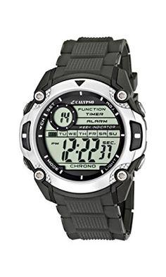 Calypso watches Jungen-Armbanduhr Digital Kautschuk K5577/1 - http://kameras-kaufen.de/calypso/calypso-watches-jungen-armbanduhr-digital-k5577