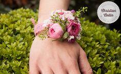 christian collin; flower; fleur; fleuriste; fleurs; flowers; paris; Bridal; bride; wedding; mariage; bracelets; bracelet