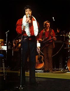 """International Hotel, Las Vegas, NV, Friday, August 7, 1970: Elvis held his rehearsal for his """"Summer Festival"""" in the main showroom with his band, singers and The Joe Guercio Orchestra. This was Guercio's first engagement with Elvis so the focus was on somewhat more elaborate songs. Watch the documentary film """"Elvis: That's the Way It Is"""", directed by Denis Sanders, which combines on-stage, off-stage and behind-the-scenes footage of EP. Opening night was on August 10, 1970."""