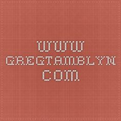 www.gregtamblyn.com