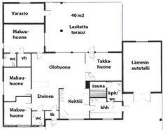 117m² Vaahteratie 6, 18120 Heinola Omakotitalo 5h myynnissä | Oikotie 12909612 Wwe, Floor Plans, Diagram, Floor Plan Drawing