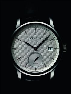 alfred dunhill facet watch stainless steel strap watches the dunhill classic watch