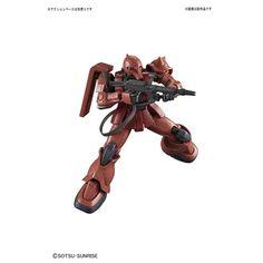 HG Gundam The Origin MS-05S Chars Zaku I - 1/144 Scale