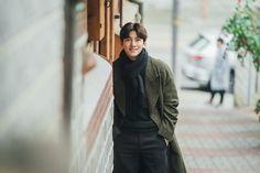 Ji Chan Wook, Kim Ji Won, Kim Min Seok, Scene Image, Korean Drama, Love Story, Behind The Scenes, Bomber Jacket, Actresses