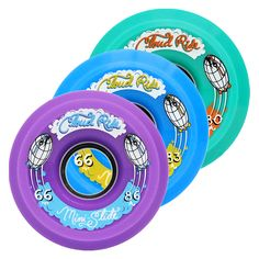 NEW!!! Cloud Ride MINI SLIDES! 66mm longboard slide wheels, available in 80a, 83a, and 86a (new durometer, too!)