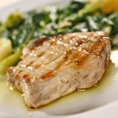 Grilled Tuna with Orange Butter - Recipes - Sprouts Farmers Market