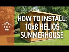 Waltons 8 x 8 Helios Summerhouse   Waltons Sheds