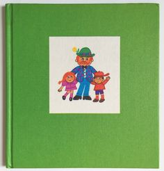 Long out of print, this adorable book describes in rhyme what daddies do.  Mind you, this book was published in 1970 so many of the descriptions can be viewed as sexist but it starts a great conversation with your child - women can do these jobs just as well as men can!