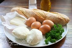 Maya's World: Pîine cu ou si mozzarella Maya, Mozzarella, Cheese, Romanian Recipes, Maya Civilization