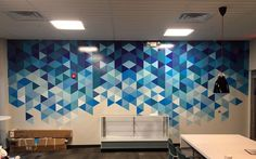 """""""After months searching for a custom wall graphics company that could offer an affordable price with quality work, we found it at Cushing."""
