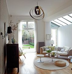 Lovely side return extension- ours would be a kitchen dining room. Fashion Room, Decor, Interior, Victorian Homes, Victorian Terrace House, Side Return, Home Decor, Interior Design, Beautiful Living Rooms