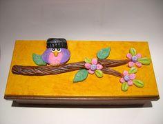 Caixas com aplicações de biscuit - Filomena Magalhães - Álbuns Web Picasa
