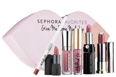 Sephora Favorites Give Me Some Nude Lip for Spring 2017 ($28) is here and available now at Sephora.com as I really enjoy these little Give Me Some Nude Lip