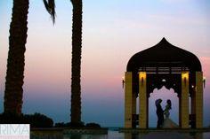 Photograph:#Wedding in #KSA #MAGICAL #ARABIC #sunset #love #couple #rimaweddingphoto