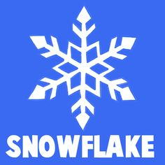 how to draw a cartoon snowflake