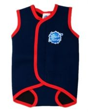 Splash About Baby Wrap - Navy Red