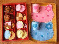 Galletas de fieltro DIY y coloque las rejillas Kit por fairyfox