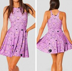 2014 Spring Summer Hotsale Cute Girl Galaxy Dress Fashion Print Ball Gown Elastic Wasit Vest Dress Plus Size #605 $17.62