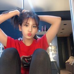 Image may contain: one or more people, people sitting and indoor Jeon Somi, Kpop Girl Groups, Kpop Girls, Hey Girl, Korean Girl, Korean Style, Girl Crushes, Ulzzang, Korean Fashion