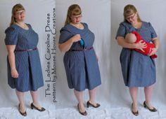 Ladies Caroline Dress (nursing modification)   Flickr - Photo Sharing!
