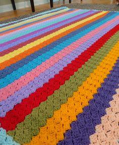 Slanted Shell Variation 2 Baby Afghan By Teresa Richardson - Free Crochet Pattern - (ravelry)