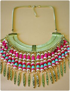 statement necklace - bimba uruguay