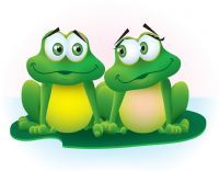 froggies went a courting...:)