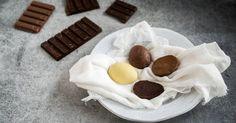 Chocolade paaseitjes zelf maken Pudding, Desserts, Food, Tailgate Desserts, Deserts, Eten, Puddings, Postres, Dessert