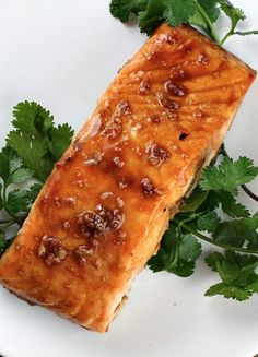 Easy Asian Salmon recipe that takes just minutes to make.