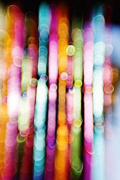 Colored Lights Bokeh