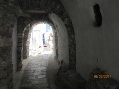 Tinos , Cyclades -Kardiani village...