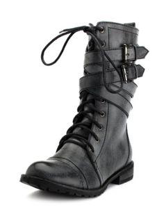basic black boot