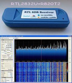 Ham Radio Receivers: 100Khz To 1.7Ghz Rtl Sdr Receiver R820t2 + Rtl2832u Hf Upconverter Ham Funcube -> BUY IT NOW ONLY: $99.98 on eBay!