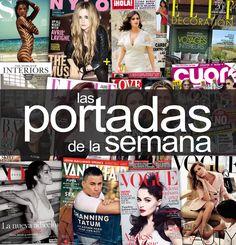 Las #portadas de la semana #Revistas Art Pop, John Galliano, The Originals, Movie Posters, Magazine Covers, Travel, Pop Art, Film Poster, Billboard