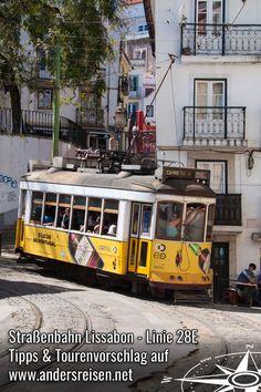 Die Straßenbahn Lissabon ist legendär. Du suchst Tipps und Tourenvorschläge für die Tram Linie 28E? Dann wirst Du in diesem Beitrag über die Straßenbahn Lissabon fündig. Montenegro, Electric Locomotive, Lisbon, City Breaks Europe, Travel Report, Greece