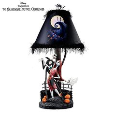 The Nightmare Before Christmas Moonlight Lamp To Go with the clock!!!!