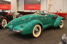 Wow!  1936 Auburn Speedster...Love the color and the wide white wall tires are Great!