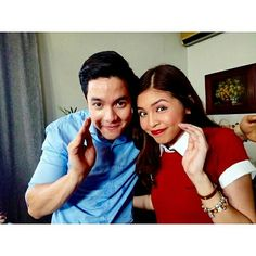 Watch the phenomenon of Asian power couple Alden Richards and Maine Mendoza via today's AlDub Live Stream here: Picture Instagram, Split Screen, Maine Mendoza, Alden Richards, Fashion And Beauty Tips, Women's Beauty, Beauty Hacks, Fantastic Baby, Now And Forever