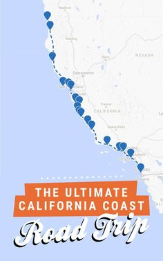 The ultimate California coast road trip, all the way from Crescent City in the north to San Diego in the south! Get the full itinerary over at Road Trippin' The States. #California