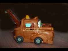 how to make matte cars in gum paste cake topper
