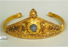 Ancient Greek (ScythianThracian) diadem found in the Ukraine; c. 450 BC