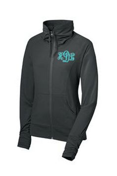 Ladies SportWick Stretch FullZip Jacket  by HeidiLouiseDesigns, $42.99