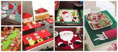 Aprende cómo hacer individuales navideños de santa claus paso a paso ~ Solountip.com Ideas Para, Advent Calendar, Christmas Crafts, Holiday Decor, Napkins, Home Decor, Christmas Decor, Easy Crafts, Decoration Home