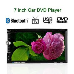 Special Offers - KKmoon 7.0 Inches Universal In-Dash 2 Double-Din HD Car Stereo DVD Player Bluetooth USB/TF FM Aux Input Radio Entertainment Multimedia Receiver - In stock & Free Shipping. You can save more money! Check It (January 06 2017 at 02:41PM) >> http://caraudiosysusa.net/kkmoon-7-0-inches-universal-in-dash-2-double-din-hd-car-stereo-dvd-player-bluetooth-usbtf-fm-aux-input-radio-entertainment-multimedia-receiver/